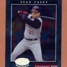 2001 Leaf Certified Materials Baseball #059 Sean Casey