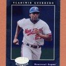 2001 Leaf Certified Materials Baseball #025 Vladimir Guerrero