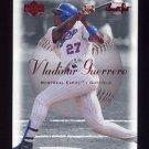 2001 Sweet Spot Baseball #043 Vladimir Guerrero - Montreal Expos