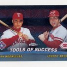 2001 Topps Chrome Combos #TC05 Ivan Rodriguez / Johnny Bench