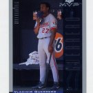 2001 Upper Deck MVP Baseball #227 Vladimir Guerrero - Montreal Expos