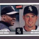 2001 Upper Deck Victory Baseball #236 Frank Thomas / Mike Sirotka