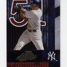2002 Absolute Memorabilia Baseball #091 Bernie Williams - New York Yankees