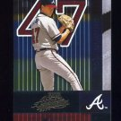 2002 Absolute Memorabilia Baseball #010 Tom Glavine - Atlanta Braves