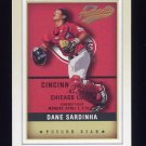 2002 Fleer Authentix Baseball #147 Dane Sardinha - Cincinnati Reds