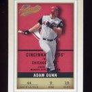 2002 Fleer Authentix Baseball #009 Adam Dunn - Cincinnati Reds