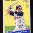 2002 Fleer Tradition Baseball #410 Aaron Boone - Cincinnati Reds