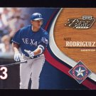 2002 Playoff Piece Of The Game Baseball #050 Alex Rodriguez - Texas Rangers