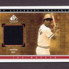 2002 SP Legendary Cuts Game Swatches #SJMO Joe Morgan - Cincinnati Reds Game-Used Jersey