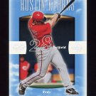 2002 Sweet Spot Baseball #088 Austin Kearns - Cincinnati Reds