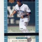 2002 Upper Deck Ovation Baseball #112 Alex Rodriguez - Seattle Mariners