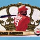 1998 Crown Royale Baseball #041 Reggie Sanders - Cincinnati Reds