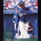 1998 Leaf Rookies And Stars Baseball #026 Ken Griffey Jr. - Seattle Mariners