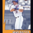 1999 Pacific Invincible Seismic Force #10 Mike Piazza - New York Mets