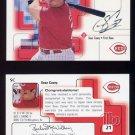 1999 SP Signature Autographs #SC Sean Casey - Cincinnati Reds AUTO