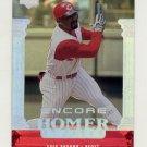 1999 Upper Deck Encore Baseball #154 Greg Vaughn - Cincinnati Reds