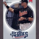 2002 Upper Deck Prospect Premieres Heroes of Baseball #HCR5 Cal Ripken - Baltimore Orioles