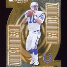 2000 Donruss Zoning Commission #ZC-07 Peyton Manning - Indianapolis Colts /1000