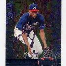 1997 Metal Universe Baseball #027 Jermaine Dye - Atlanta Braves
