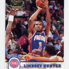 1993-94 Hoops Fifth Anniversary Gold #333 Lindsey Hunter - Detroit Pistons