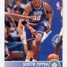1994-95 Hoops Basketball #233 Scottie Pippen - Chicago Bulls