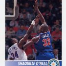 1994-95 Hoops Basketball #231 Shaquille O'Neal - Orlando Magic