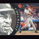 1996 Pinnacle Aficionado Baseball #197 Albert Belle CL - Cleveland Indians
