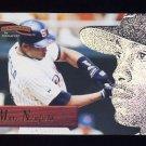 1996 Pinnacle Aficionado Baseball #131 Marc Newfield - San Diego Padres