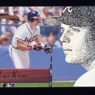 1996 Pinnacle Aficionado Baseball #107 Ryan Klesko - Atlanta Braves