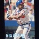 1996 Fleer Tiffany #290 Mike Devereaux - Atlanta Braves