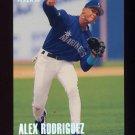 1996 Fleer Tiffany #243 Alex Rodriguez - Seattle Mariners