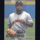 1996 Fleer Baseball #595 Deion Sanders - San Francisco Giants