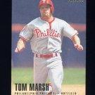 1996 Fleer Baseball #503 Tom Marsh - Philadelphia Phillies