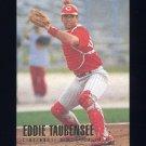 1996 Fleer Baseball #355 Eddie Taubensee - Cincinnati Reds