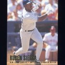 1996 Fleer Baseball #196 Ruben Sierra - New York Yankees