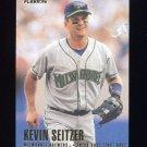 1996 Fleer Baseball #157 Kevin Seitzer - Milwaukee Brewers