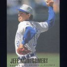 1996 Fleer Baseball #135 Jeff Montgomery - Kansas City Royals