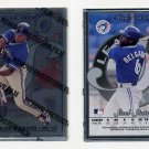 1996 Leaf Preferred Steel Baseball #46 Carlos Delgado - Toronto Blue Jays