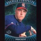 1996 SP Baseball #004 Darin Erstad RC - California Angels