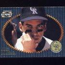 1996 Summit Foil Baseball #115 Andres Galarraga - Colorado Rockies