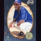 1996 Summit Foil Baseball #022 Chili Davis - California Angels