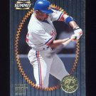 1996 Summit Foil Baseball #015 Rondell White - Montreal Expos