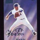 1996 Visions Baseball #130 Nolan Ryan - Texas Rangers
