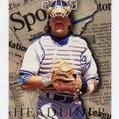 1995 Fleer Update Headliners #15 Mike Piazza - Los Angeles Dodgers