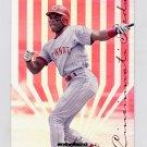 1995 Leaf Limited Baseball #160 Reggie Sanders - Cincinnati Reds