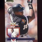 1995 National Packtime Baseball #01 Frank Thomas - Chicago White Sox