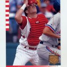 1993 SP Baseball #212 Joe Oliver - Cincinnati Reds