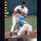 1993 SP Baseball #184 Carlos Garcia - Pittsburgh Pirates