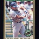 1993 O-Pee-Chee Premier Star Performers #07 Juan Gonzalez - Texas Rangers