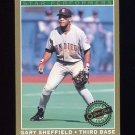 1993 O-Pee-Chee Premier Star Performers #06 Gary Sheffield - San Diego Padres